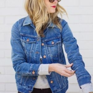 Madewell Pinter Wash Jean Jacket